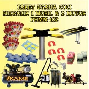 Paket Usaha Cuci Mobil Motor Hidrolik PHMM-102