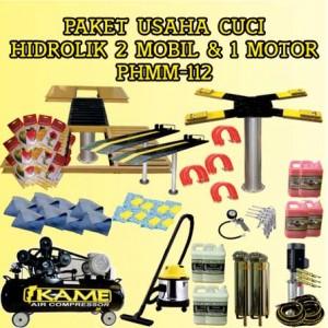 Paket Usaha Cuci Mobil Motor Hidrolik PHMM-112