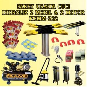 Paket Usaha Cuci Mobil Motor Hidrolik PHMM-202