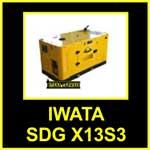 Genset-IWATA-SDG-X13S3