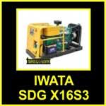 Genset-IWATA-SDG-X16S3