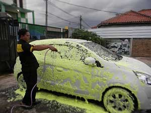 hasil-shampo-mobil-motor-kuning