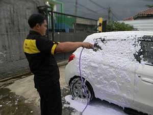 hasil-shampo-mobil-motor-ungu