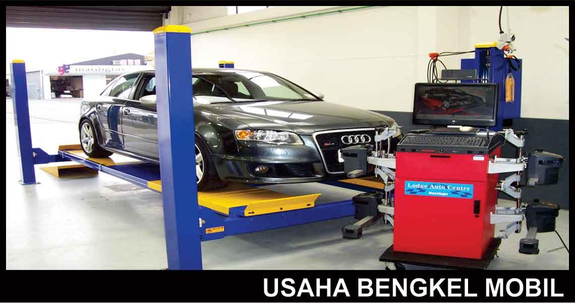 Paket Usaha Bengkel Mobil Istana Teknik