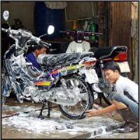 Paket Cuci Motor